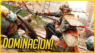 FOR HONOR: MASACRE EN DOMINACION 4v4!! | GAMEPLAY ESPAÑOL | Makina