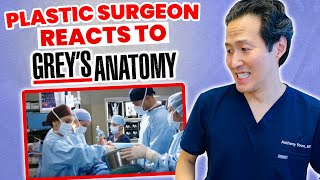 Doctor Reacts to Plastic Surgery in Grey's Anatomy - How Realistic Is It?