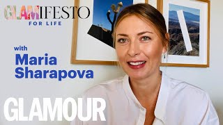 Glamifesto For Life With Maria Sharapova: On Work Outs, Mental Health & Retirement   GLAMOUR UK