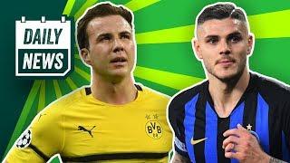 Icardi vs. Inter Mailand! Tottenham vs. Dortmund! Caiuby in die Schweiz! Legale Pyro beim HSV?