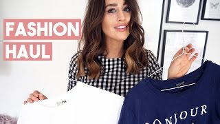 One of Fashion Slave's most viewed videos: FASHION HAUL & TRY ON | TOPSHOP ASOS PRIMARK | FASHION SLAVE SOPHIE MILNER
