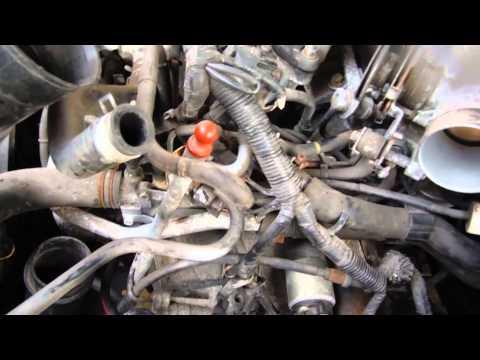 1998 nissan maxima intake assembly youtube2005nissanmaximaenginediagram Obdii Code P0400 1999 Nissan Altima #12