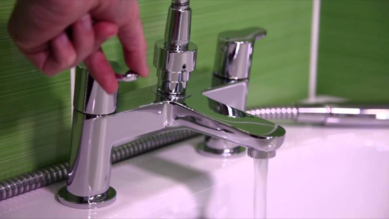 concept 2 hole bath shower mixer with shower set b9930aa youtube concept 2 hole bath shower mixer with shower set b9930aa ideal standard uk