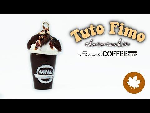 • [FFW#5] Tuto fimo chocolat chaud / Polymer clay tutorial hot chocolate •