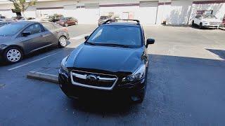 2015 Subaru Impreza не заводится