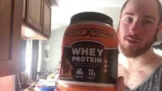 Body Fortress Chocolate Peanut Butter Whey Protein Review