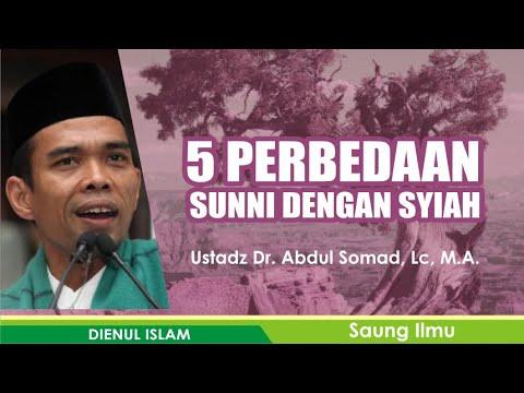 Video 5 Perbedaan Syiah dengan Sunni