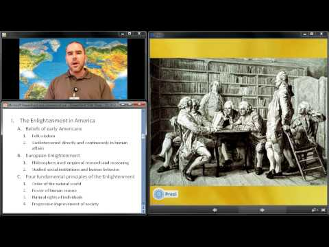 Video Lecture 14: The Enlightenment and Great Awakening