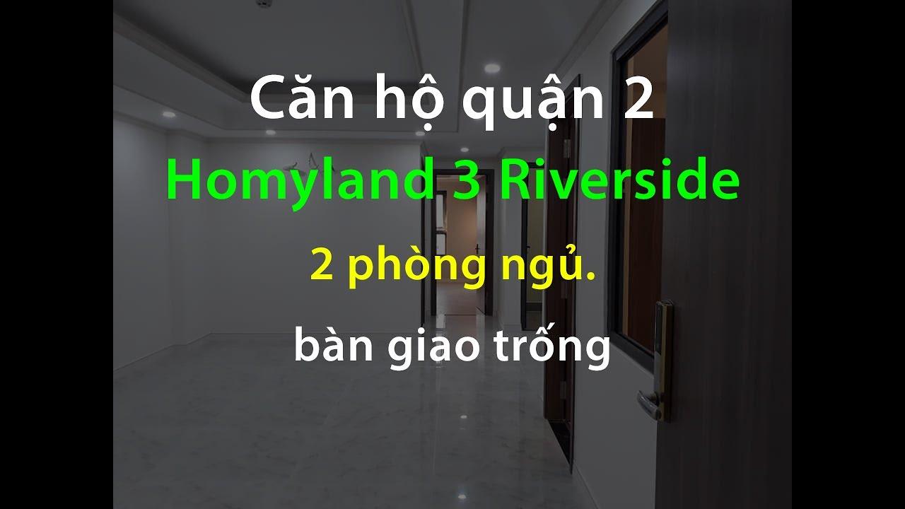 Bán căn hộ 2 phòng ngủ Homyland 3 | 0972.907.970