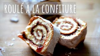 Easy homemade roulé à la confiture (Jam rolls recipe for home)