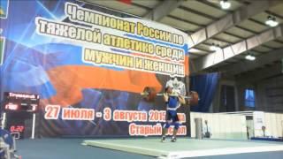 видео Артем Окулов и Алексей Юфкин — чемпионы России 2017 по тяжелой атлетике