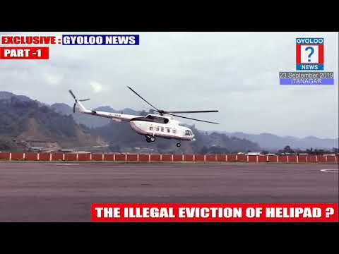 THE ILLEGAL EVICTION OF HELIPAD ? PART -1