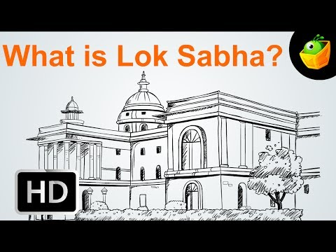 What Is Lok Sabha -  Election - Cartoon/Animated Video For Kids Mp3