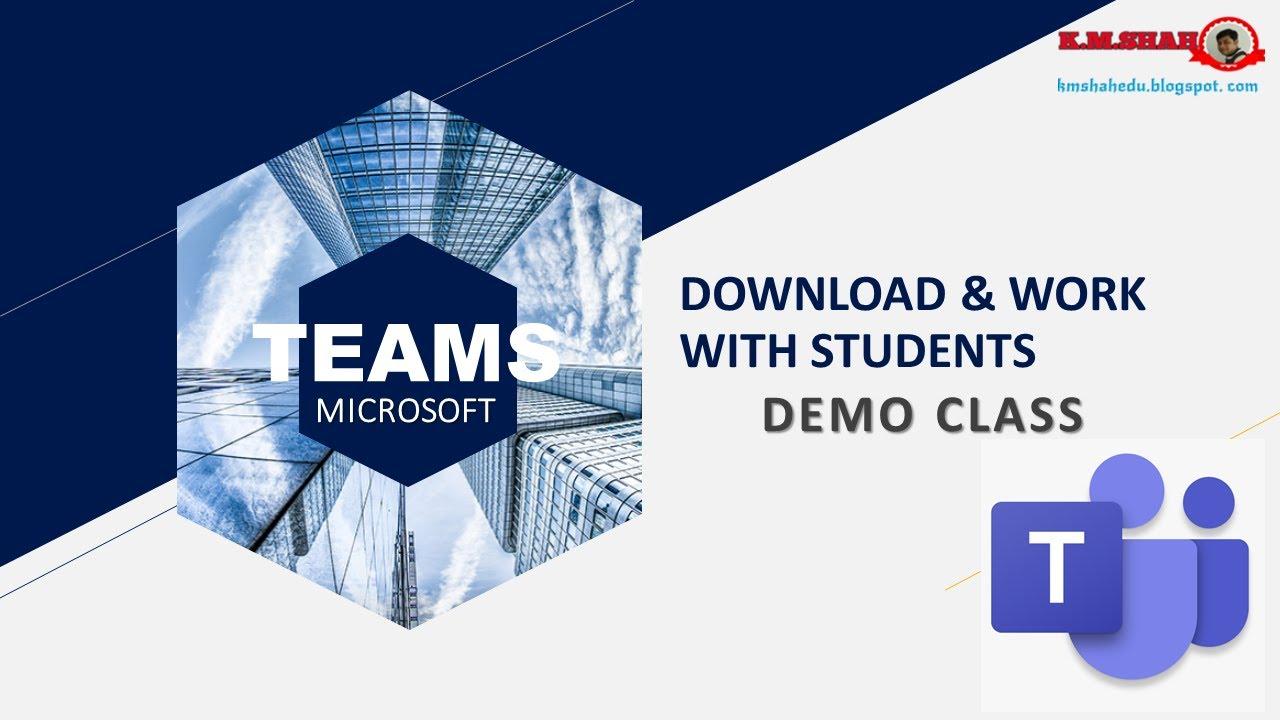 VIRTUAL CLASS WITH MICROSOFT : Teams Login & Demo Class ...