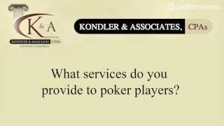 WSOP 2013: Minimize Your Tax Liability from Poker Winnings with Kondler and Associates