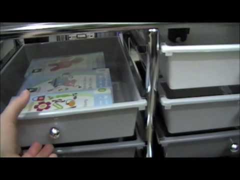 Cricut Expression Storage Cart Youtube