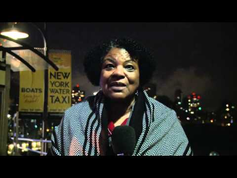 Colia Clark Green Party NY US Senate candidate campaign intro