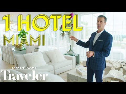 Inside a $45K/Night Miami Duplex Penthouse | Condé Nast Traveler