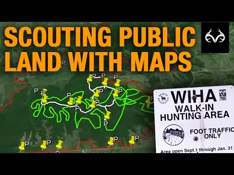 Scouting Public Land With Maps