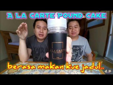 Liquid ala carte pound cake juicenation a la carte