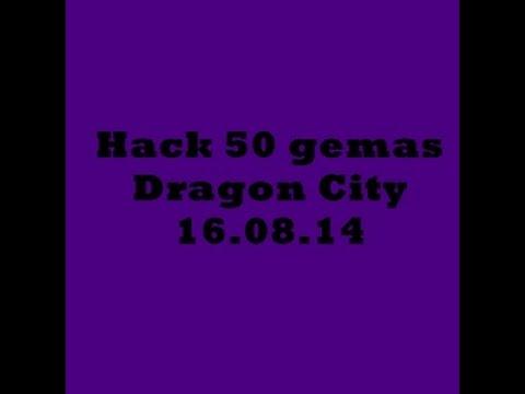Hack de 50 Gemas Dragon city 2014