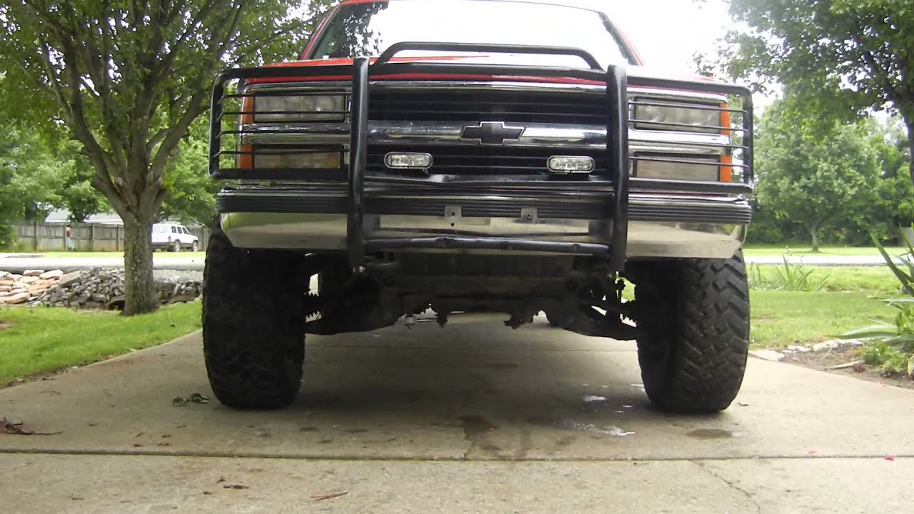 Beautiful 1998 Chevy Silverado Lifted Youtube