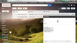 Creating a Group and Using Undisclosed Recipients in GMail
