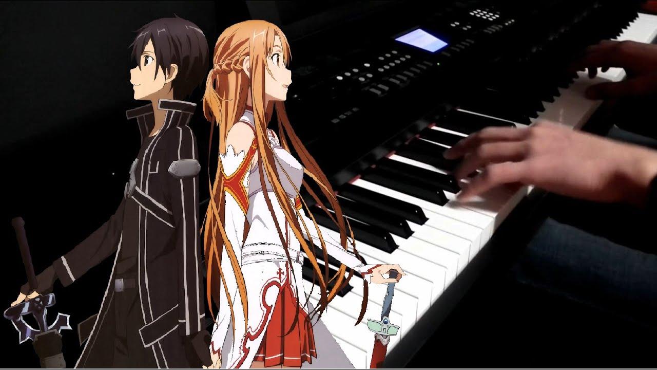 Sword Art Online OP - Crossing Field (Piano Cover) - YouTube