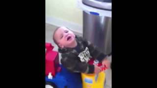 Toddler Truck Temper Tantrum