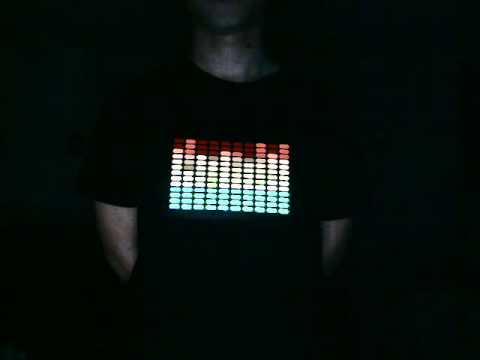 sound t shirt equalizer