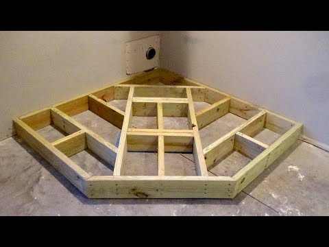 How to Build a Wood Stove Hearth - Framing a Hearth