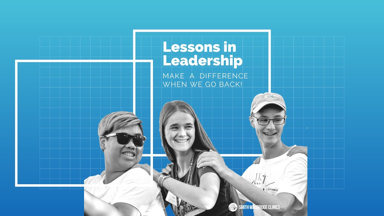 Lessons in Leadership - Make a Difference When We Go Back!