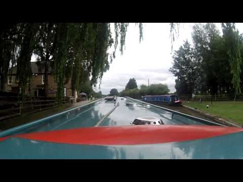 Narrowboat Grand Union Canal 2015