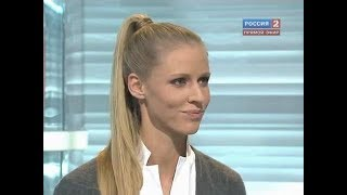 """Елена Дементьева в """"Неделе спорта"""" (08.11.10)"""