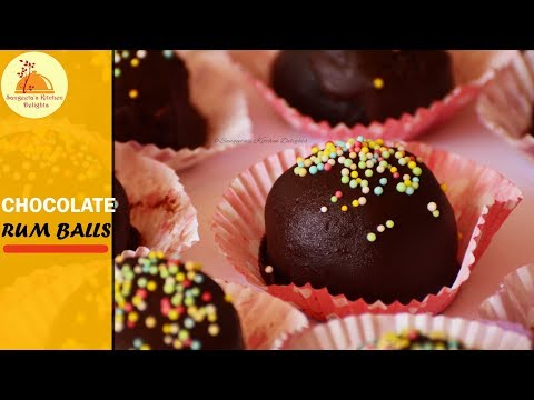 Chocolate Rum Ball | Christmas New Year Special Recipe | Party Dessert