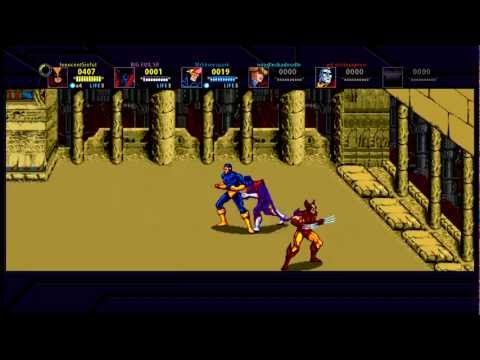 X-MEN Arcade (Xbox Live Arcade) Full Playthrough