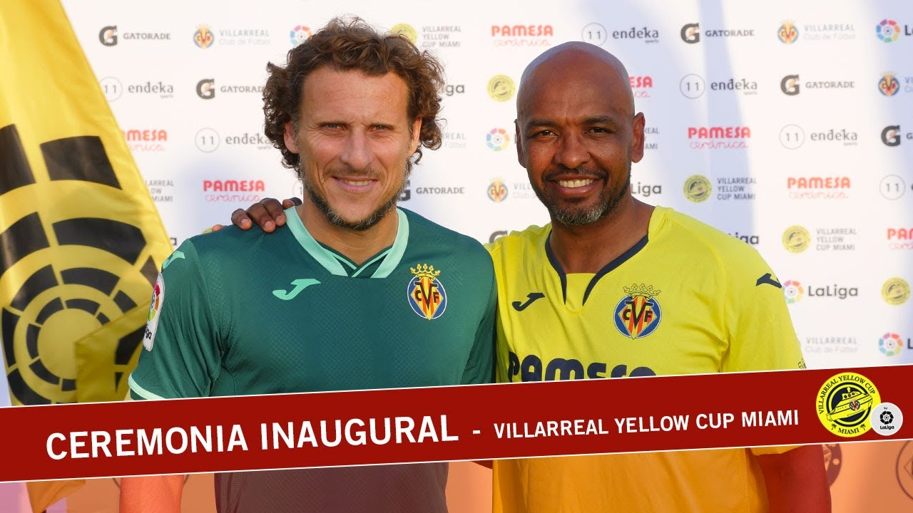 Ceremonia inaugural - Villarreal Yellow Cup Miami | 2019