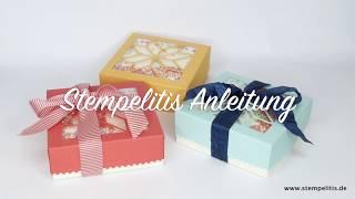 Stampin' Up! Schüttelfenster Box von Stempelitis