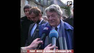 "Hommage à Bernard Tapie : ""Un type formidable"" (Jean-Louis Borloo)"