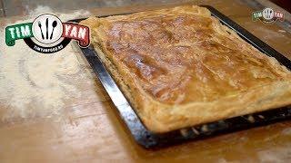 Рыбный пирог из консервов