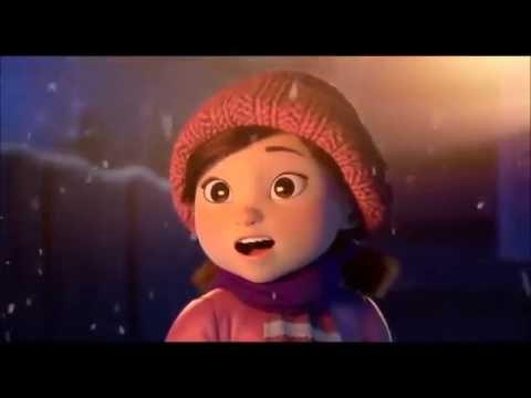 Смотреть мультфильм девушка и снеговик