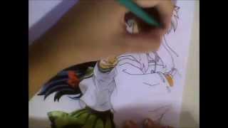 Dibujando~InuYasha & Kagome (Drawing~Painting)