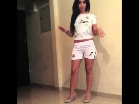 Cristiano Ronaldo Real Madrid girl.