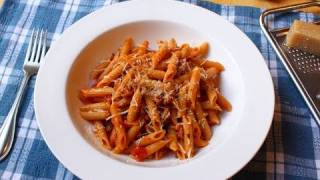 Food Wishes Recipes - Spicy Sausage Ragu Pasta Sauce - Penne Pasta With Sausage Ragu Recipe