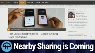 Nearby Sharing is Coming to Android
