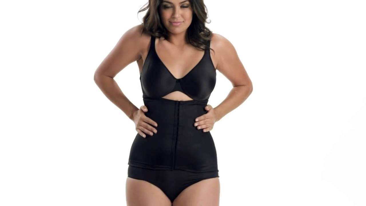 6c3afcd05 Miraclesuit Inches Off Waist Cincher Shapewear - Style 2615 - YouTube