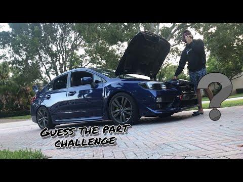 Guess The Part Challenge 2016 Subaru WRX- Alex Stavrinos