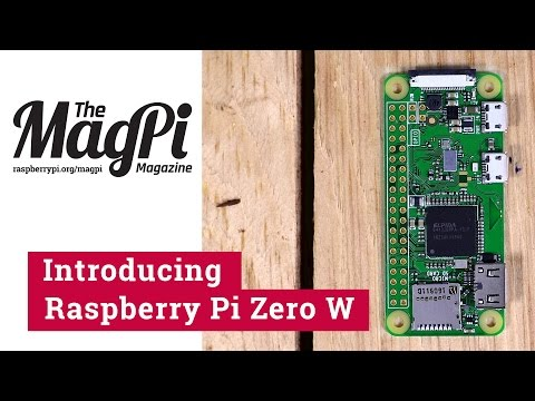 Thumbnail: Introducing Raspberry Pi Zero W