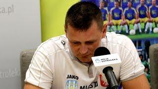 Trener Korony Ostrołęka Marcin Truszkowski o meczu z KS Łomianki