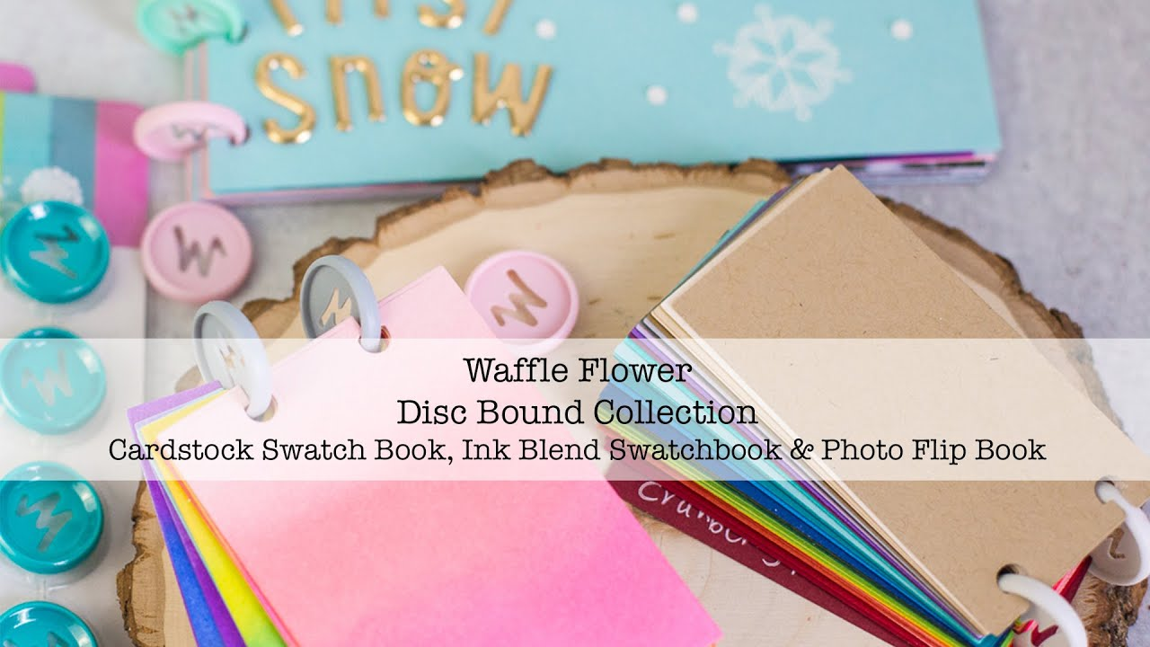 Cool Set Waffle Flower Binding Discs